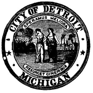 City Seal of Detroit, Michigan