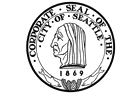 City Seal of Seattle, Washington