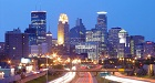 Skyline of Minneapolis, MN