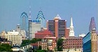 Skyline of Philadelphia, PA