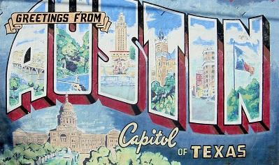 City of Austin Skyline