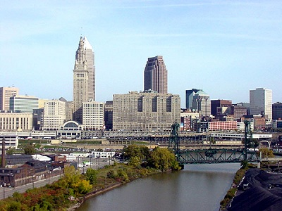 City of Cleveland Skyline