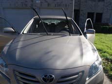 Cleveland Windshield Replacement, step 2: Prepare to Install New Windshield
