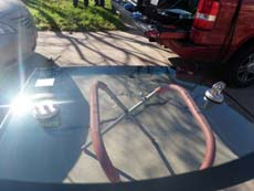 Installing Windshield in Cleveland OH, step 3: Setting New Windshield