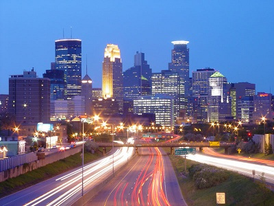 City of Minneapolis Skyline