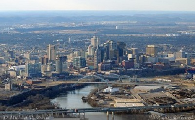 City of Nashville Skyline