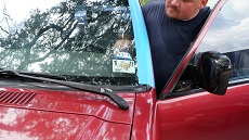 New Car Windshield in Atlanta, step 4: Clean & Present to Customer