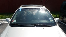 New Car Windshield in Baltimore, step 4: Clean & Present to Customer