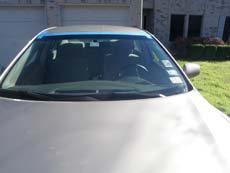 New Car Windshield in Cleveland, step 4: Clean & Present to Customer