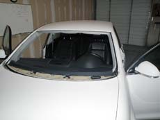 New Car Windshield in Columbus, step 4: Clean & Present to Customer