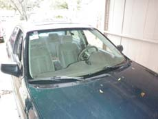New Car Windshield in Los Angeles, step 4: Clean & Present to Customer
