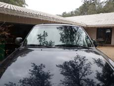New Car Windshield in Riverside, step 4: Clean & Present to Customer