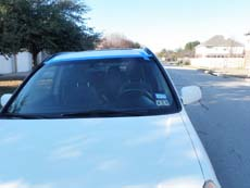 New Car Windshield in San Antonio, step 4: Clean & Present to Customer