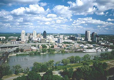 City of Sacramento Skyline