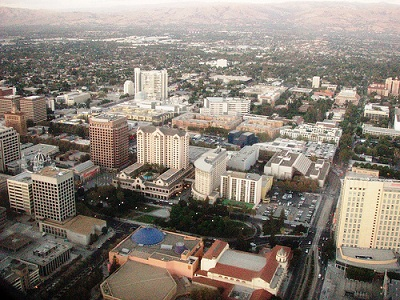 City of San Jose Skyline