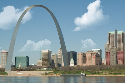 City of St Louis Skyline