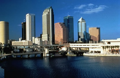 City of Tampa Skyline