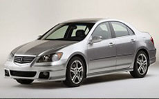Acura RL Windshield Repair