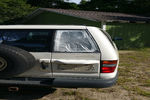 1992 Isuzu Trooper 4 Door Utility Back Glass   Passenger's Side