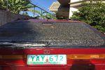 1993 Honda Accord 4 Door Station Wagon Back Glass