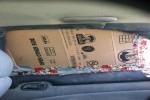 1994 Geo Prizm 4 Door Sedan Door Glass Rear Passenger Side