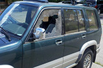 1997 Isuzu Trooper 4 Door Utility Door Glass Front Driver Side