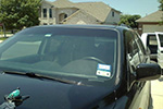 1998 Isuzu Trooper 4 Door Utility Door Glass Front Passenger Side