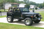 1998 Jeep Wrangler 2 Door Utility Windshield