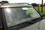 2000 Land Rover Discovery II Windshield