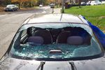 2000 Toyota Echo 4 Door Sedan Back Glass   Heated