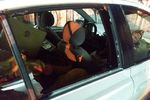 2000 Toyota Echo 4 Door Sedan Rear Passenger's Side Door Glass