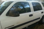 2001 Chevrolet Tahoe LT Door Glass Front Driver Side