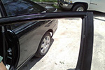 2002 Honda Civic 2 Door Coupe Door Glass Front Driver Side Replacement