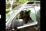 2002 Nissan Pathfinder 4 Door Utility Door Glass   Front Driver's Side Replacement
