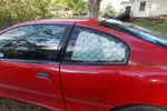 2002 Pontiac Sunfire 2 Door Coupe Driver's Side Quarter Glass