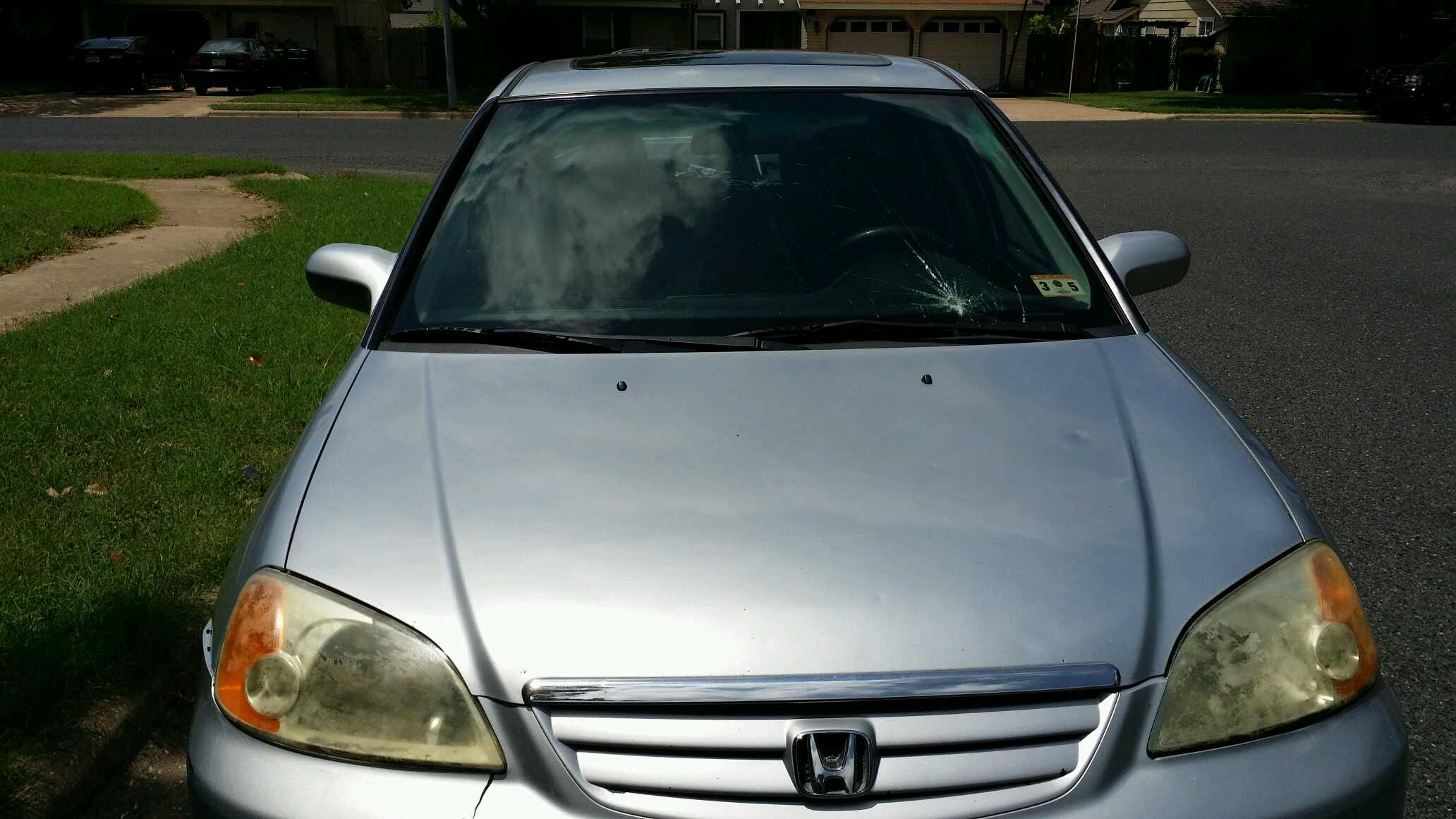 2003 honda civic 4 door sedan windshield for Honda civic windshield replacement cost
