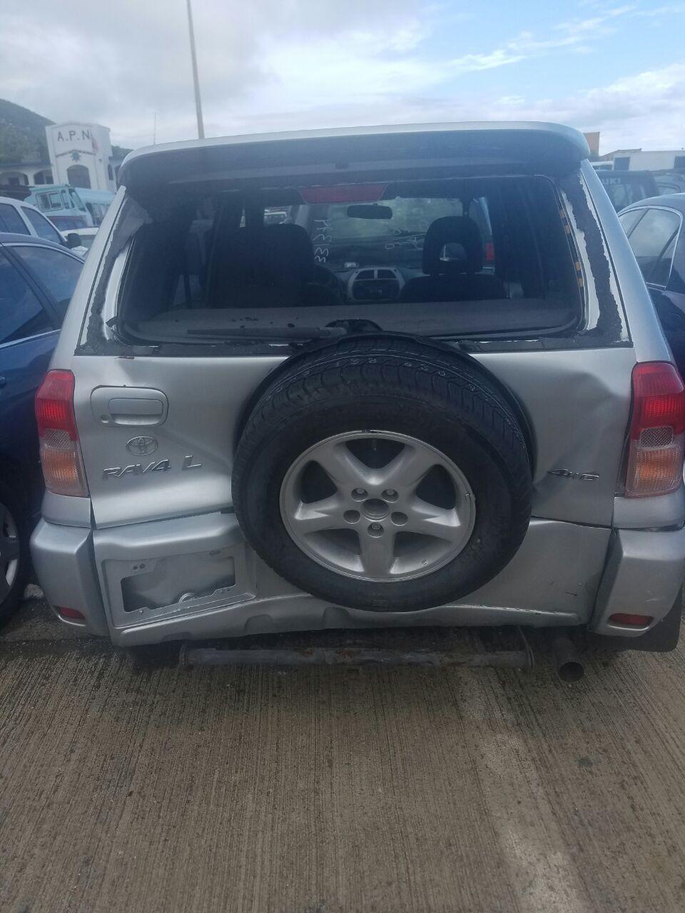 Toyota Rav Door Utility Back Glass