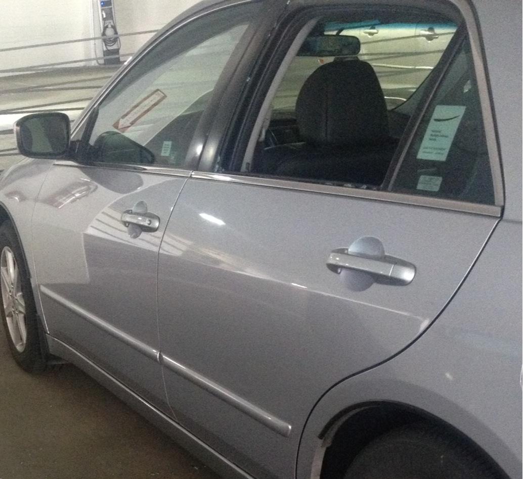 2004 honda accord 4 door sedan door glass rear driver side replacement. Black Bedroom Furniture Sets. Home Design Ideas