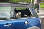 2004 MINI Cooper 2 Door Hatchback Passenger's Side Quarter Glass