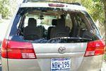 2004 Toyota Sienna Mini Van Back Glass