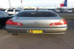 2005 Infiniti G35 4 Door Sedan Back Glass