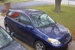 2005 Toyota Matrix Rear Passenger's Side Door Glass