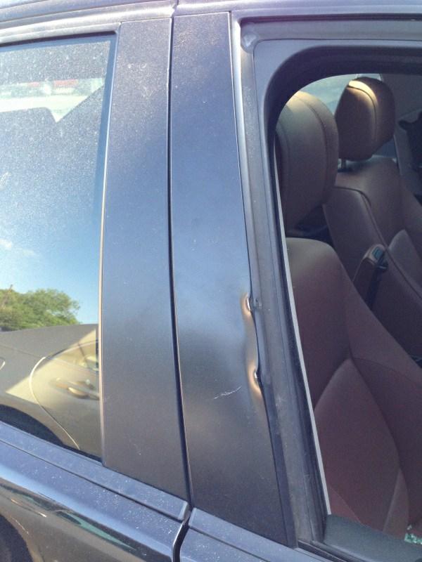 2006 Bmw 325 4 Door Sedan Door Glass Front Passenger Side