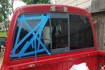 2006 Dodge Dakota Pickup 4 Door Crew Cab Back Glass