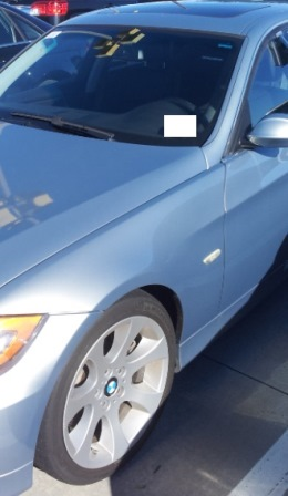 2007 Bmw 335 4 Door Sedan Windshield