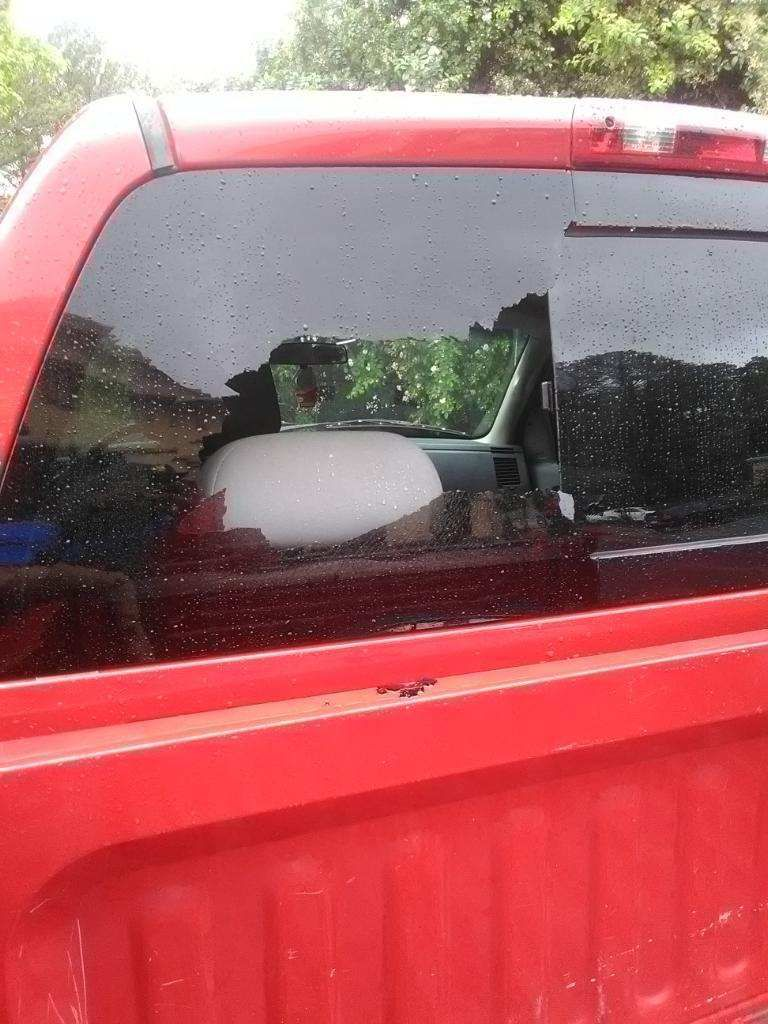Dodge Pickup Door Crew Cab Back Glass Slider on 05 Dodge Dakota 4 Door