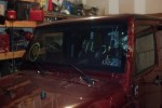 2007 Jeep Wrangler 4 Door Utility Windshield Replacement