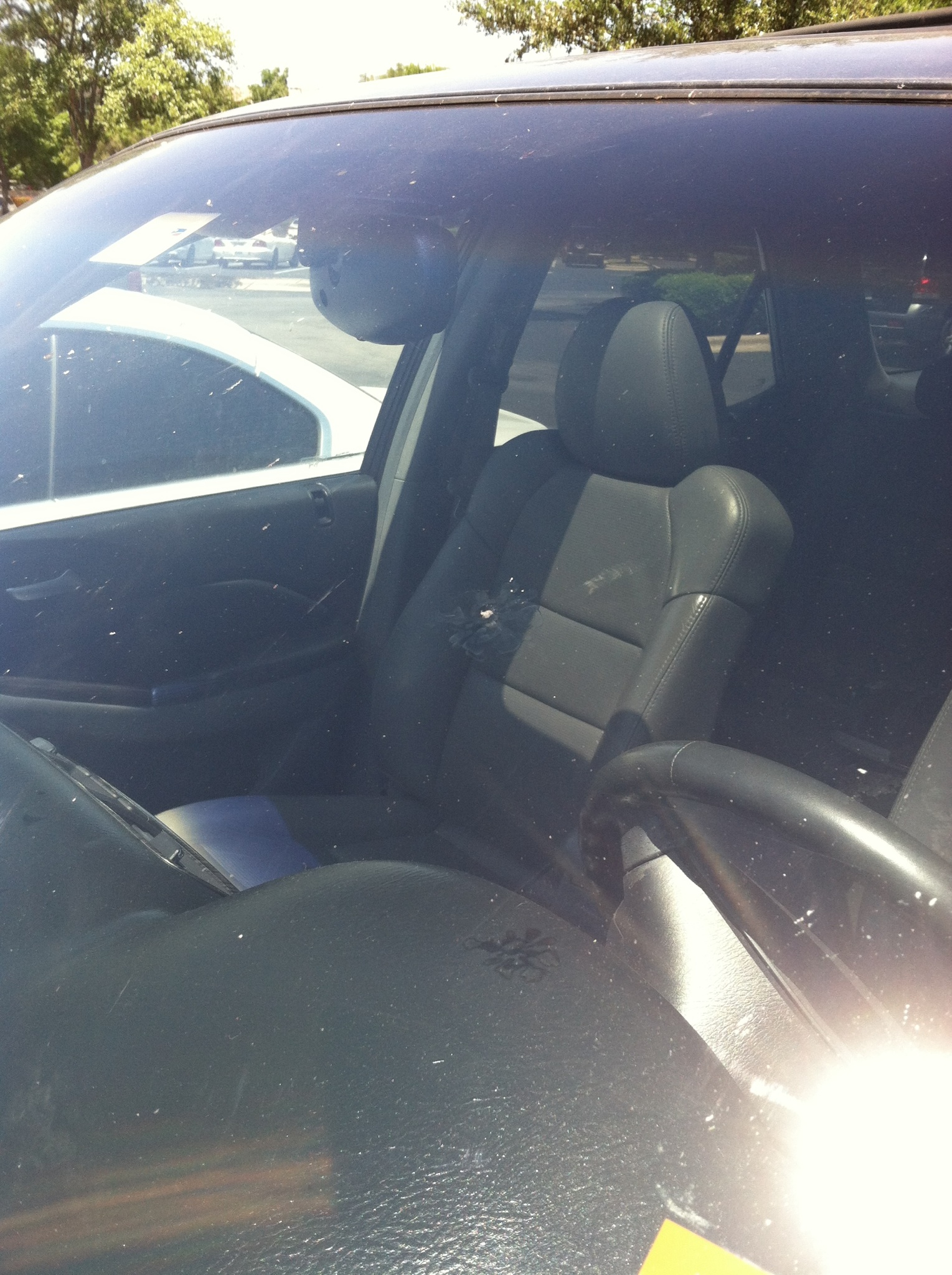 2007 mercedes benz ml350 windshield