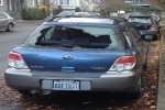2007 Subaru Outback Sport Back Glass With Antenna Replacement