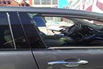 2008 Acura MDX Door Glass Front Passenger Side
